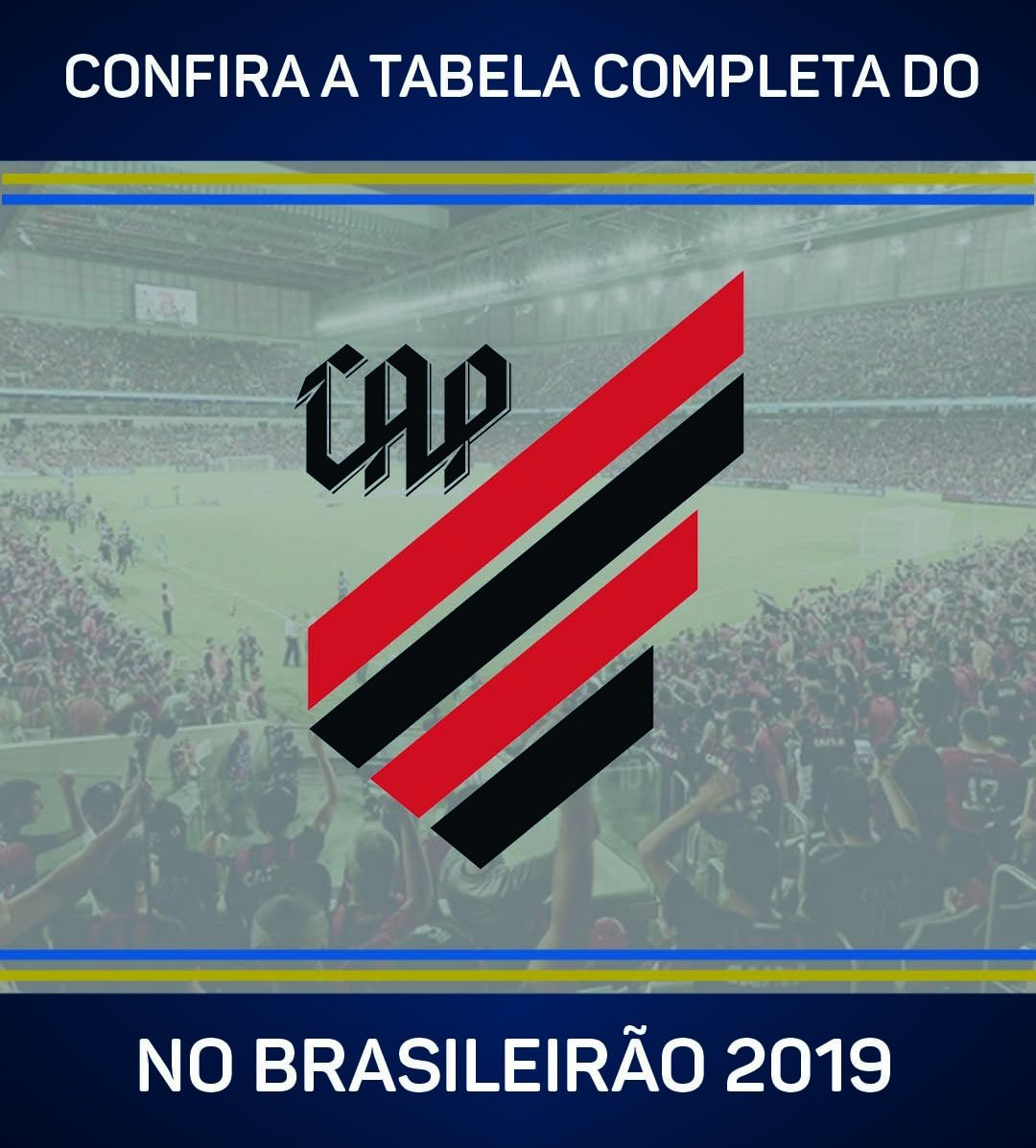 O @atleticopr encara o Vasco na estreia do !#Brasileirão2019  Veja a tabela completa do clube >>  https://t.co/kJKZQXP7HG
