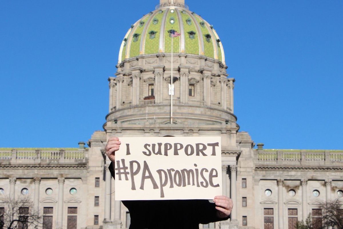 YOU could help make education affordable in Pennsylvania by joining us March 27 in Harrisburg. We'll be rallying in support of the #PApromise bills to make #affordablecollegenow. Help us spread the word! Details at http://PApromise.org/events
