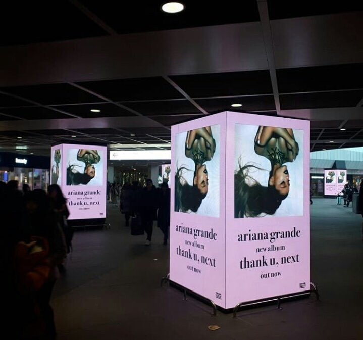 South Korea  promoting @ArianaGrande's spectacular album thank you next. I wonder if Ari will be performing there for her sweetener tour  <br>http://pic.twitter.com/BuZzhXOVXB