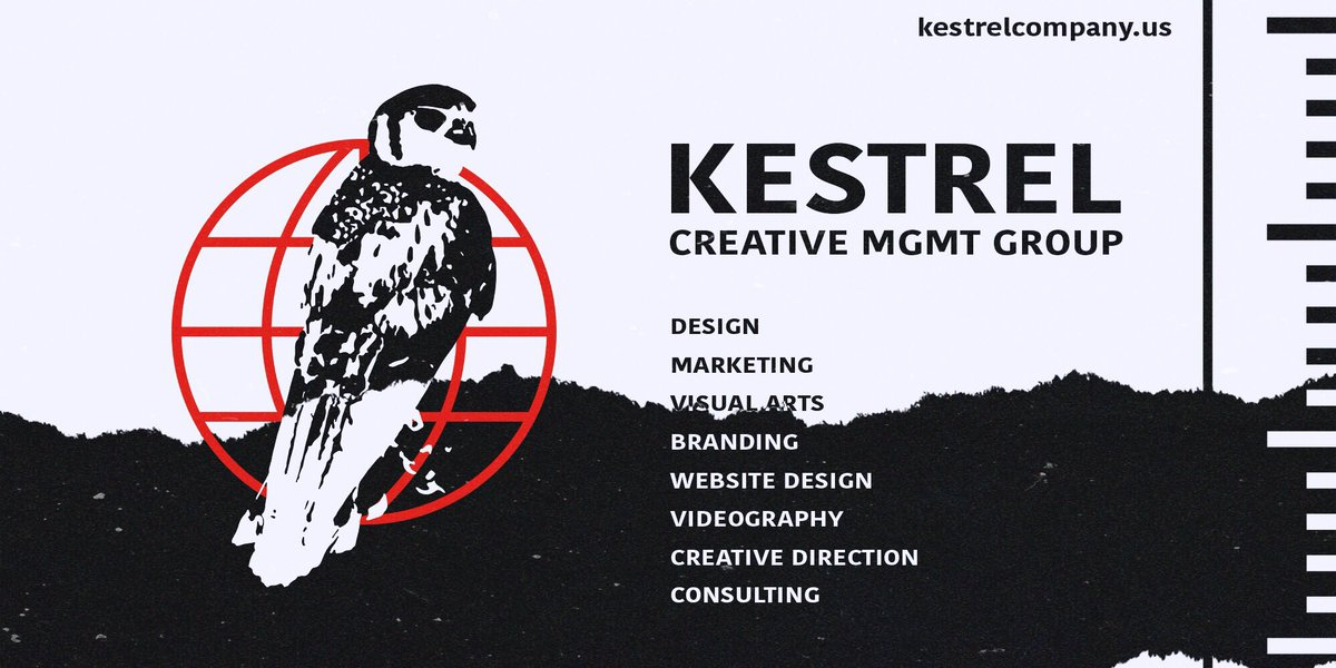 Kestrel will be introducing marketing and management services that put creative direction first, and offer perspectives from a diverse team.   If you want fake followers, go on Fiver.   If you want to work with a team that puts your art first, contact us. <br>http://pic.twitter.com/FVebpXJoZw