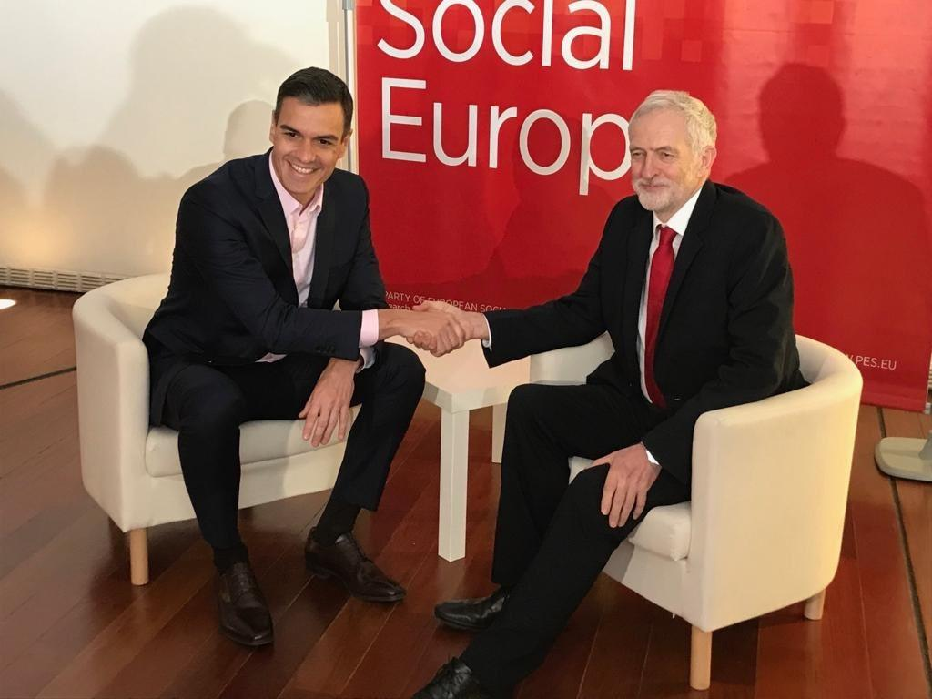 An informative and optimistic discussion with Spain&#39;s Prime Minister Pedro Sánchez. We talked about next week&#39;s Brexit votes in the UK parliament and Labour&#39;s alternative plan, as well as the upcoming Spanish elections and how we work together to combat the far right. <br>http://pic.twitter.com/nD0adT9rUb