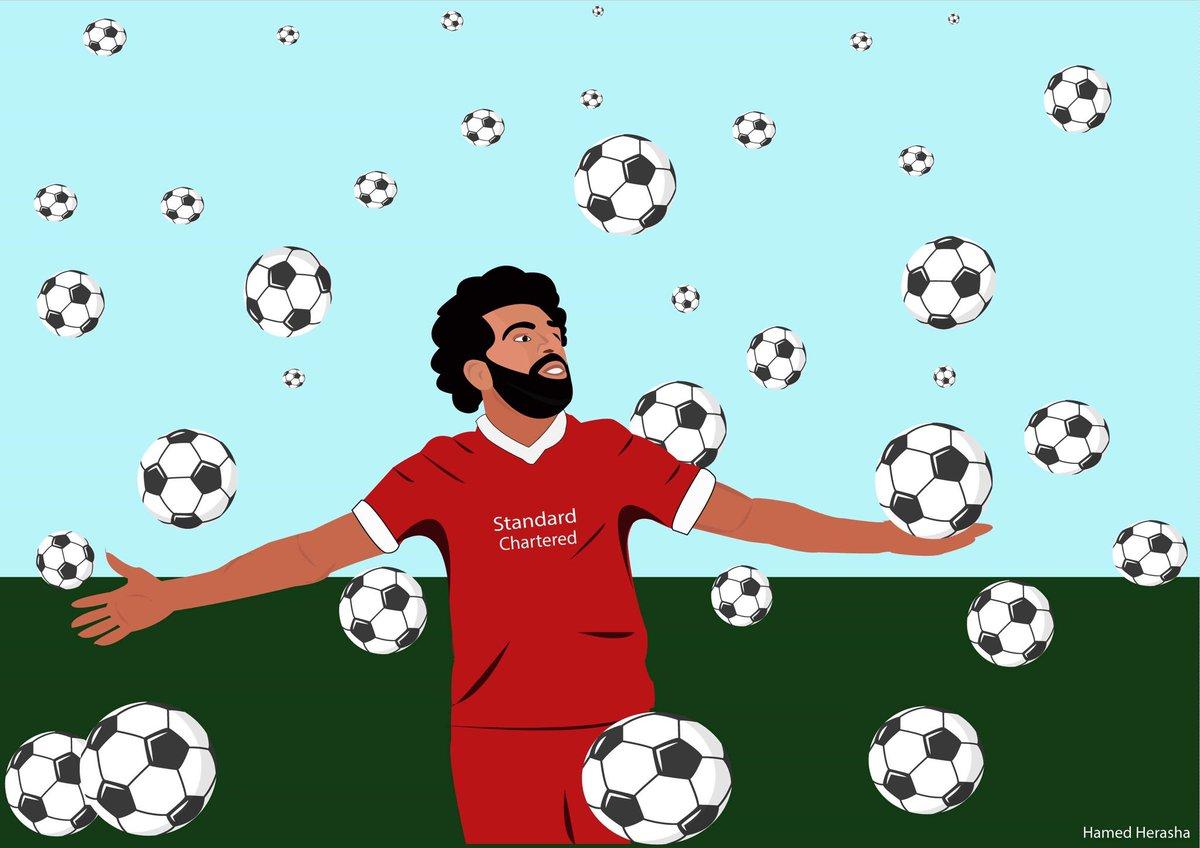 You can achieve your dreams. @MoSalah ,vector portrait.  #MoSalah #football #Liverpool  #vectorart