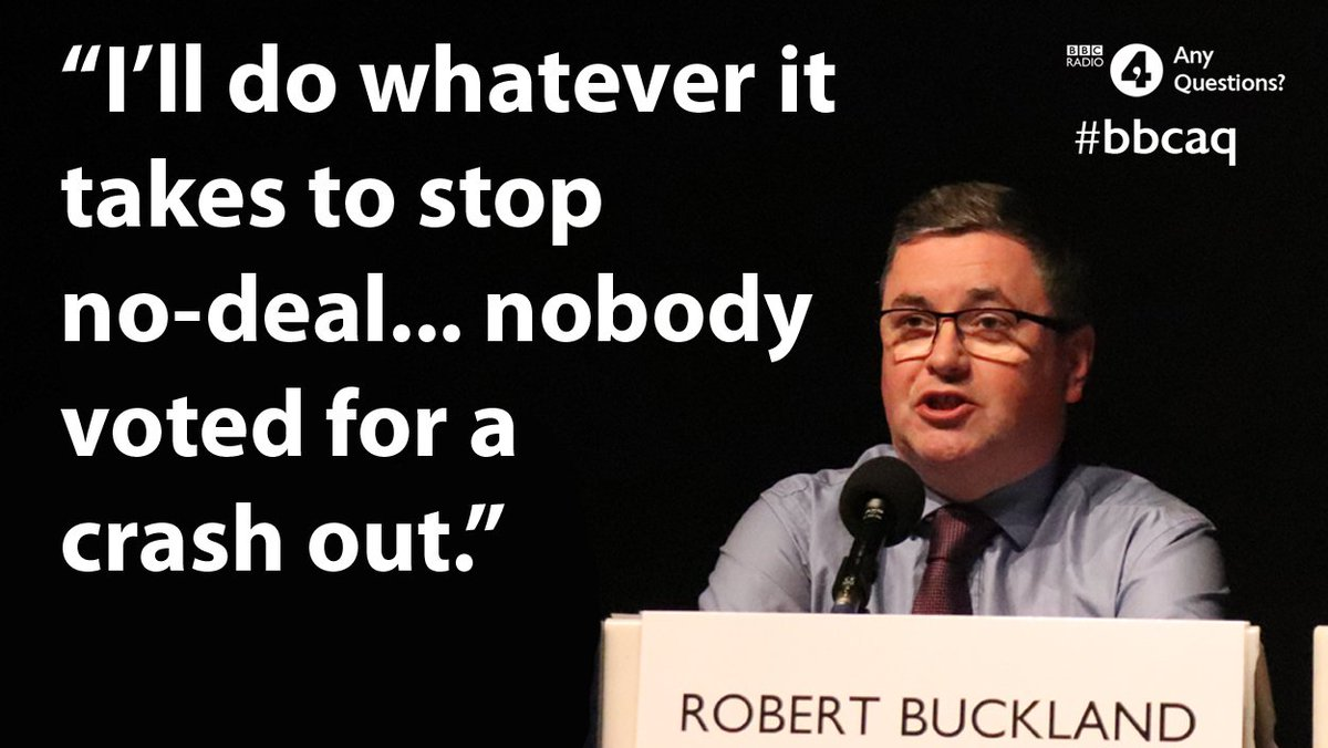 'No self respecting Tory government should ever deliberately inflict an act of self-harm upon the people we represent'   Solicitor General @RobertBuckland on this week's Any Questions?  #bbcaq
