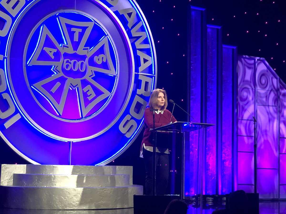 #PublicistsAwards #ICG600 celebrates @sagawards honoring 25 years of exceptional performances by #sagaftramembers accepted by Exec Producer Kathy Connell.