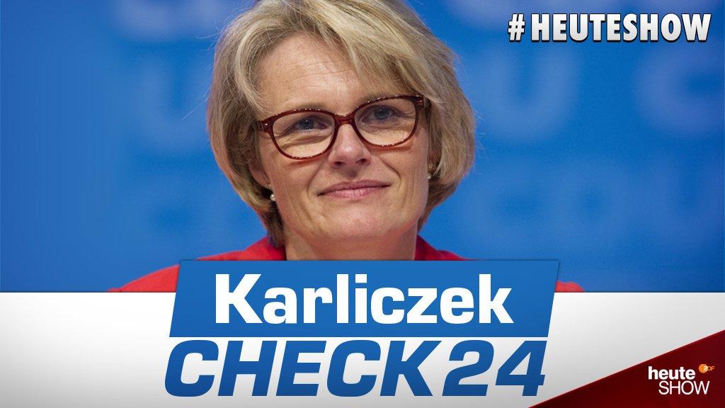 Heute show karliczek
