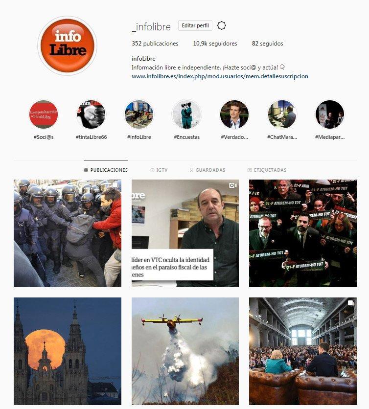 También puedes seguir a @_infoLibre en Instagram y Telegram:   👉 Nuestro perfil de Instagram: https://www.instagram.com/_infolibre/            👉 Nuestro canal de Telegram: https://t.me/infoLibre_es