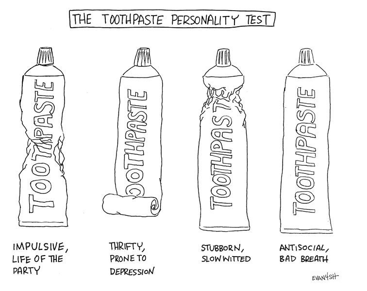 Image result for how do you squeeze your toothpaste