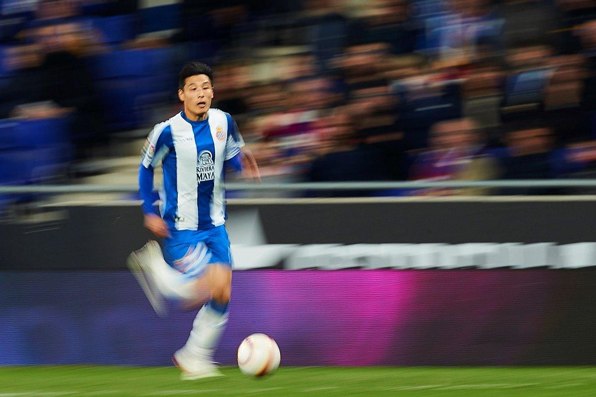 3 disparos 💥 4 regates ✨ 2 entradas al balón 🛠️  Wu Lei, muy participativo en su primera titularidad en casa en #LaLigaSantander. 🌪️🇨🇳  #EspanyolHuesca