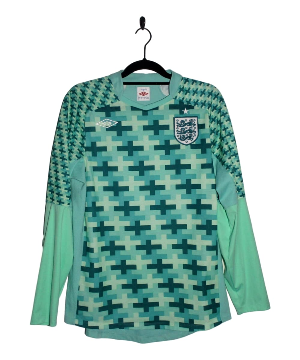 Checkout this 2011-12 England Goalkeeper Jersey (L)!  Buy Now http://tinyurl.com/yasuu8xd   #2011-12 #England #Goalkeeper #Umbro #England   #FootballShirt #VoetbalShirt #MaillotdeFoot #Fußballtrikot #bajubola #camisadefutebol #Camisetadefutbol