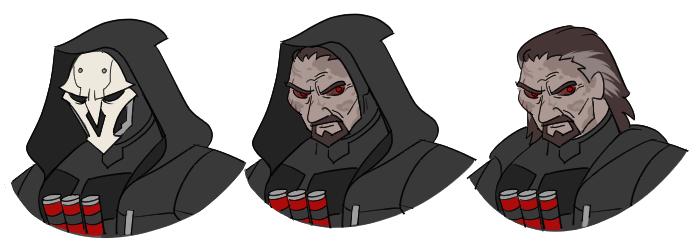 Overwatch Reaper Unmasked