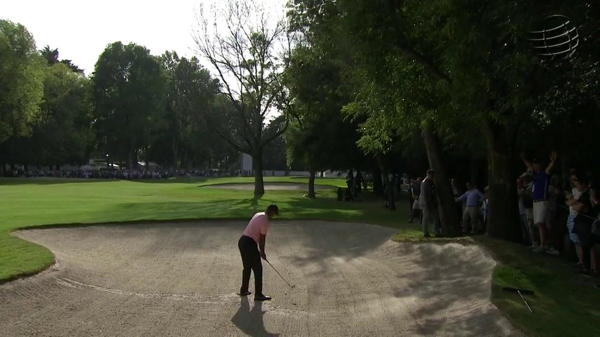 Watch Tiger Woods turn back the clock with vintage cut shot from bunker at WGC-Mexico