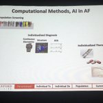 Image for the Tweet beginning: #WAFib2019 Computational Methods & Machine