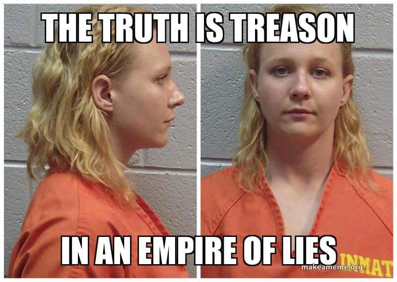 Yeah. It's pretty crazy how the world moved on so fast and has forgotten about Reality Winner and the sacrifice she made for our country. #RealityWinner
