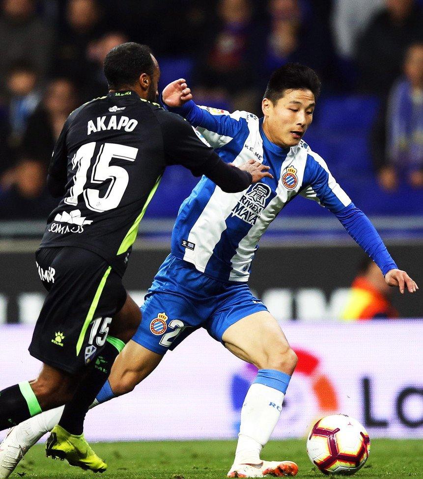 Wu Lei disputó su primer partido completo con el #Espanyol. Con el 1-1 contra el #Huesca, el ex del #ShanghaiSIPG sigue sin conocer la derrota en #LaLiga (1 victoria, 3 empates)
