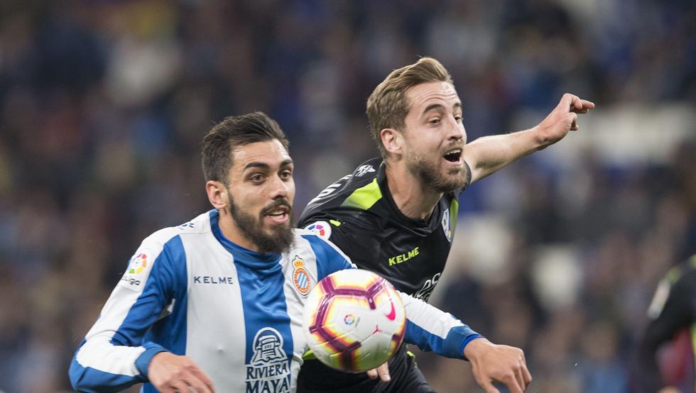 ⚽#Liga #España🇪🇸(Fecha Nº 25):  #Espanyol 1 (Granero) - #Huesca 1 (Etxeitia). FINAL.
