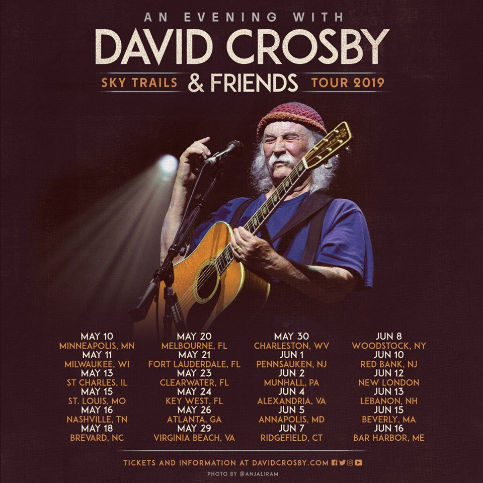 My very first tour poster!!! This is my photo! On a tour poster! A TOUR POSTER! Thank you Croz for giving me the opportunity to photograph you and helping me grow as a tour photographer!  TOUR POSTER!  @thedavidcrosby #DavidCrosby #Croz #SkyTrails #Friends #Tour<br>http://pic.twitter.com/Srt26WRokQ