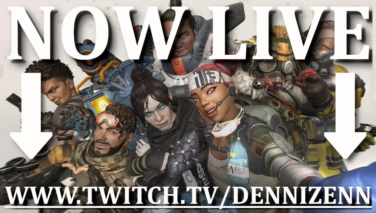 LIVE!    http:// twitch.tv/dennizenn  &nbsp;     Time for some Friday chillen  NEW Blind emote is now LIVE also! Starting with some @PlayApex and maybe moving onto other games later in the day. Hope to see you there!  #SoxxieFamily #WeStreamers <br>http://pic.twitter.com/MDN6Njv3wT