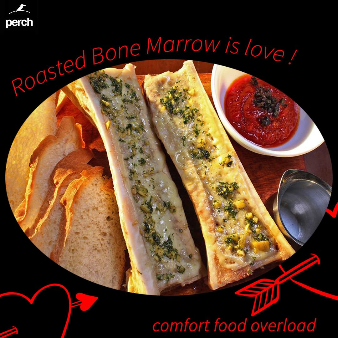 Flavors beyond your wildest dreams!  Beef bone marrow is absolutely delicious, this you must try here at #PerchModernKitchen + #Bar!