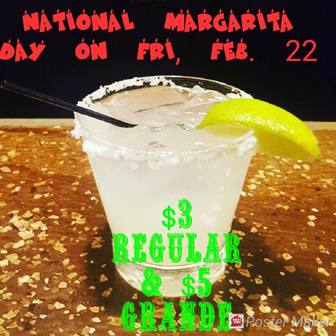 $3 Regular & $5 Grande Lime Margaritas @Day222Margarita #margarita #tequila #drinklocal #bar #barlife #NationalMargaritaDay #lfk #lawrenceks #ku #kansas #larryville #haskell