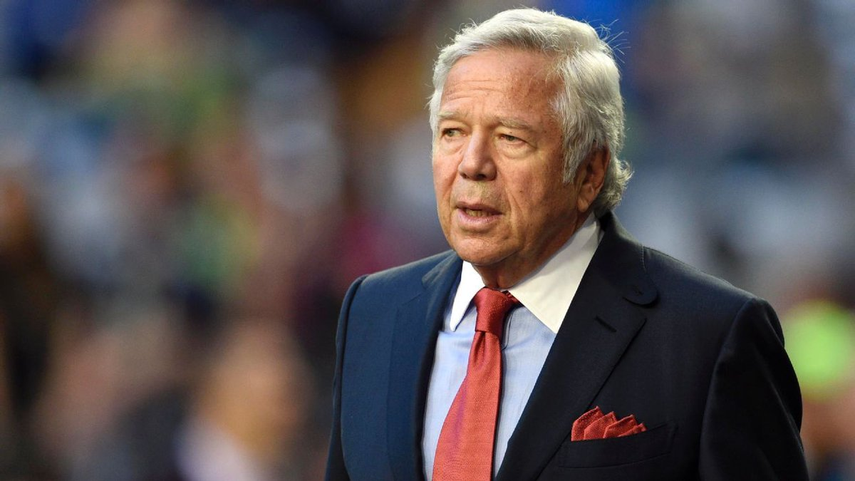 Pats' Kraft facing charges of soliciting prostitute Patriots owner Robert Kraft is facing misdemeanor solicitation of prostitution charges. Police in Florida say they have videotape of him paying for a sex act inside an illicit mass... http://www.espn.com/nfl/story/_/id/26055197/patriots-owner-robert-kraft-facing-charges-solicitation-prostitution… #NBA #football #NHL