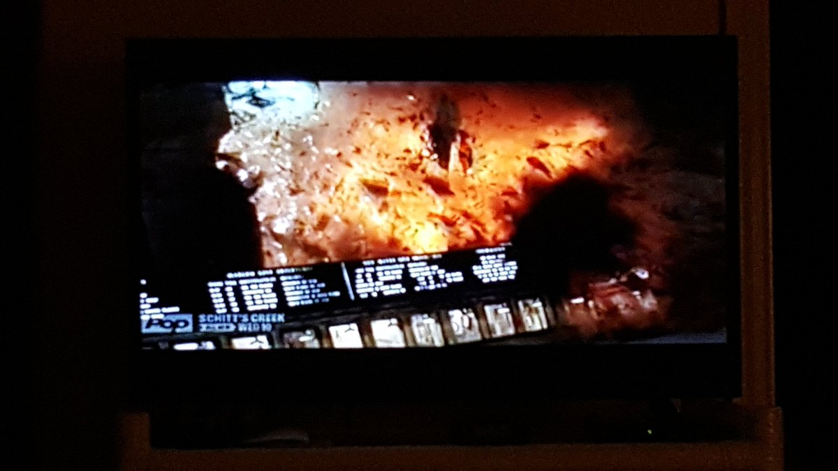 Watching Armageddon solo in my office tonight. As I have said 1000 times I&#39;m a regular party animal on weekends. Mr. Excitement. I&#39;ll be out cold asleep on the couch by 9 or 10.  <br>http://pic.twitter.com/VbK0gf4BZi
