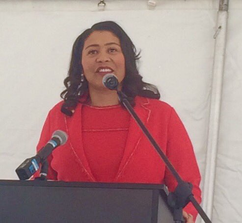 Great to see @LondonBreed @fionama @eliz_sf today in #SF for newly renovated #SFRAD apts opening! @BankofAmerica @SFHDC #publichousing