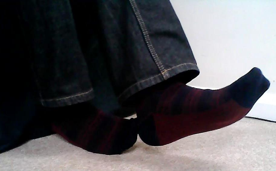 New #socks Friday - black #socks with red stripes &amp; soles  -  http:// youtu.be/1T6VBZiZtrY  &nbsp;   #sockgame #sockswag #socksoutfriday #socksoftheday<br>http://pic.twitter.com/jvNatCtJwW