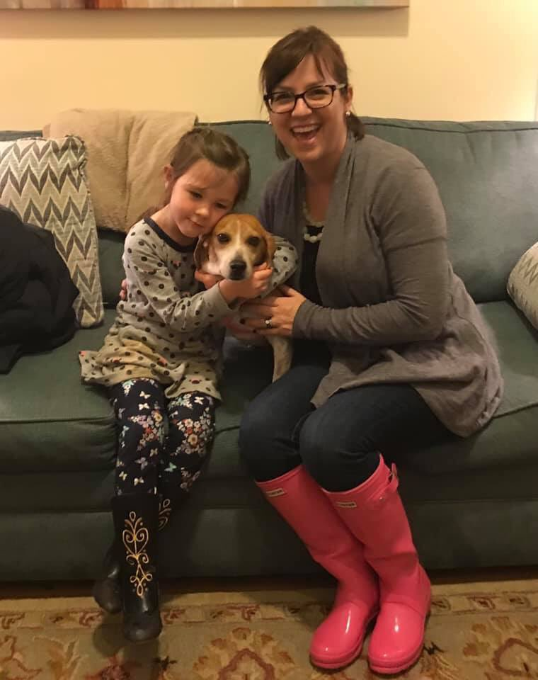 This is love  Congratulations to Allie and her new family!  @dog_feelings  #beagle #AdoptDontShop<br>http://pic.twitter.com/hNLh6x5197