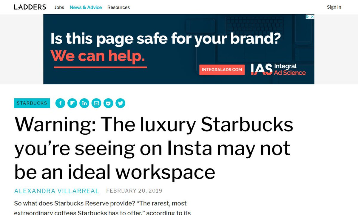Why the new Starbucks Reserve may not be best place for remote work - Ladders #remotework #marketing via  http:// theladders.com  &nbsp;   ☛  http:// amp.gs/9JH3  &nbsp;  <br>http://pic.twitter.com/MndmGAGZzd
