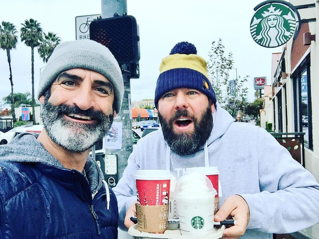 """Brody and I were neighbors. We'd run into each other all the time at our Starbucks. My daughters would see him and say in his cadence to me, """"Dad, BRODY STEVENS!"""" I'm really sad. I gonna miss him so much. <br>http://pic.twitter.com/D1kfLdhyMv"""