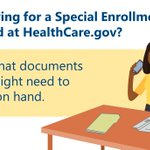 Image for the Tweet beginning: Applying for a Special Enrollment