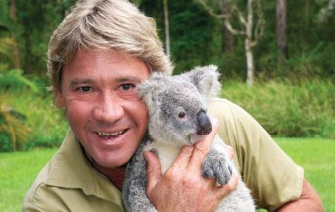 Happy birthday to Steve Irwin who would ve been 57 today :(