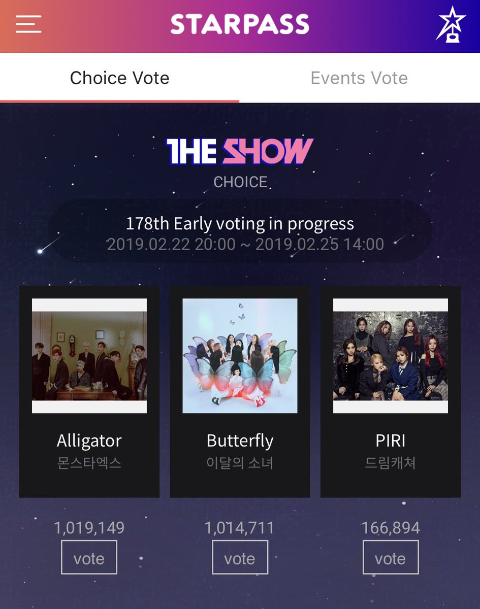 hi friends go vote for monsta x on the starpass app <br>http://pic.twitter.com/fKEXh2ICaK