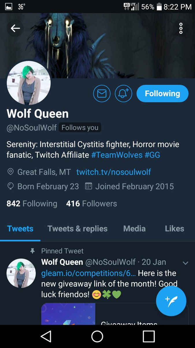 Shoutout to these awesome people for the wonderful streams  @NoSoulWolf   #contentcreators #twitchcommunity #SmashSupport<br>http://pic.twitter.com/4RnGx42Pi2