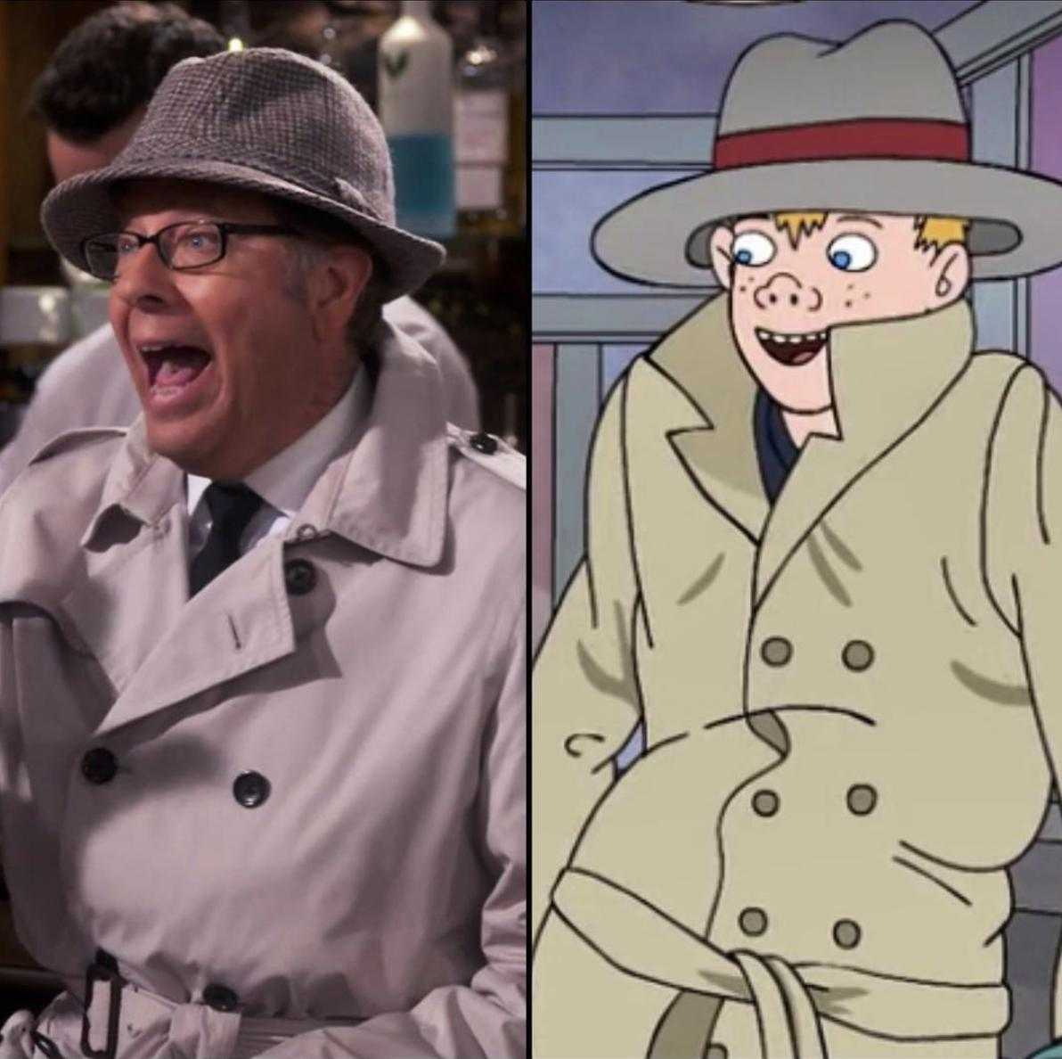 Dr. Leslie and Vincent Adultman — separated at birth?!? #ODAAT #BojackHorseman <br>http://pic.twitter.com/M65bZRoH0n