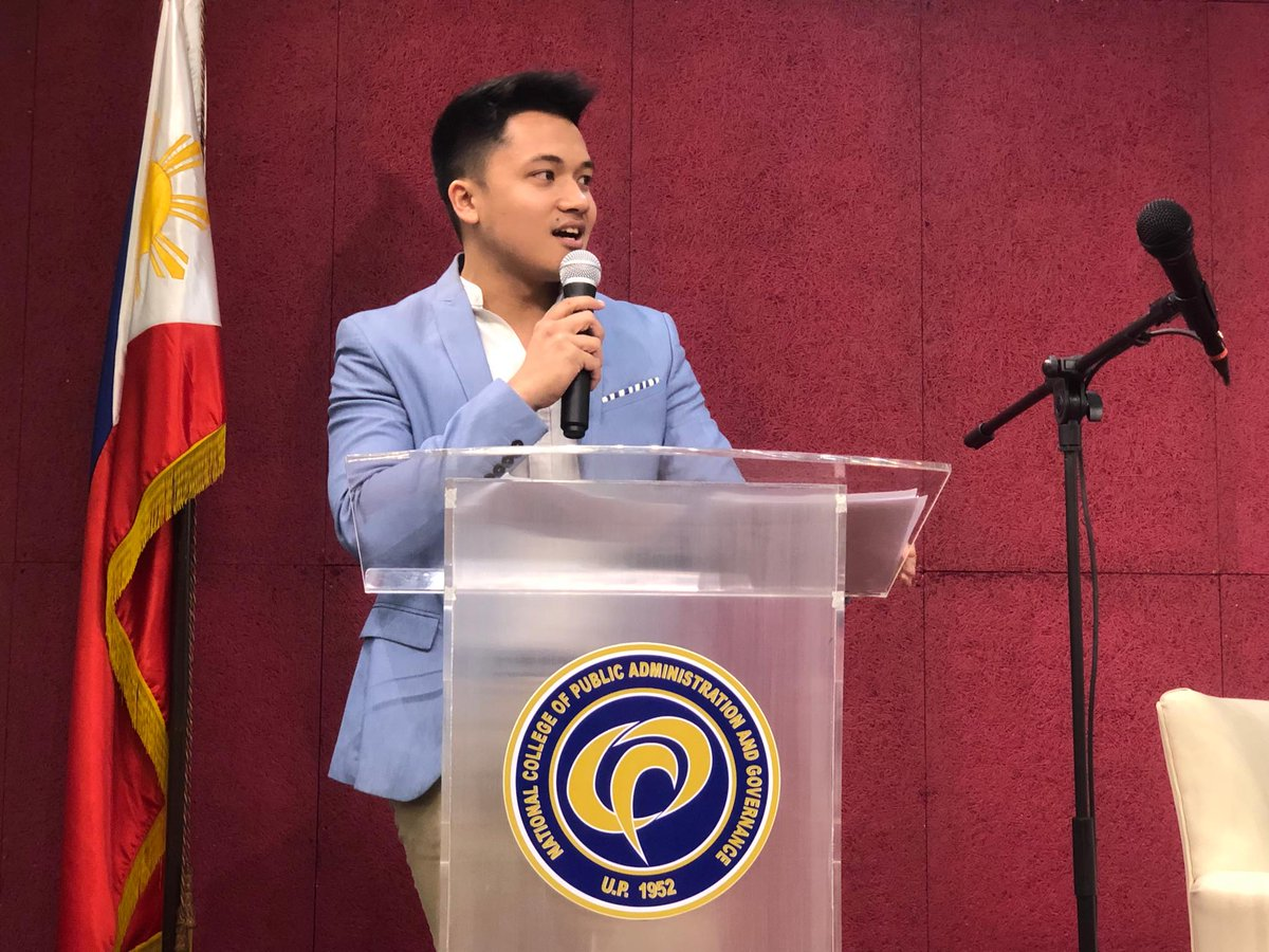 """Jules Guiang, founder of National Alliance of Youth Leaders, believes  the youth should grab the opportunity to vote and make a difference. """"Bilang kabataan, bilang bahagi ng organized groups, we reach out and go beyond our circles,"""" he said. #BantayBoto2019"""