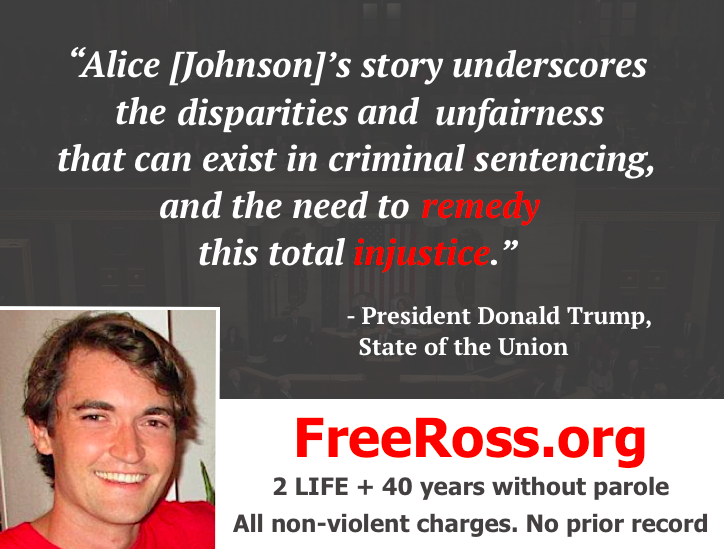#SecondChance #FreeRoss2019 @AliceMarieFree Sign Ross's petition at https://FreeRoss.org/petition . Please RT.