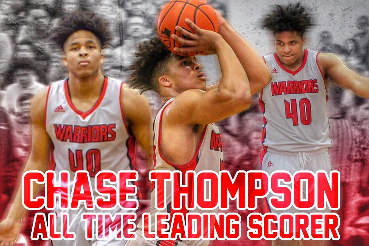 And with that basket Chase Thompson becomes the ALL TIME LEADING SCORER IN WESTSIDE HISTORY! Congrats Chase!