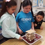 Image for the Tweet beginning: Edison School hosted our STEAM