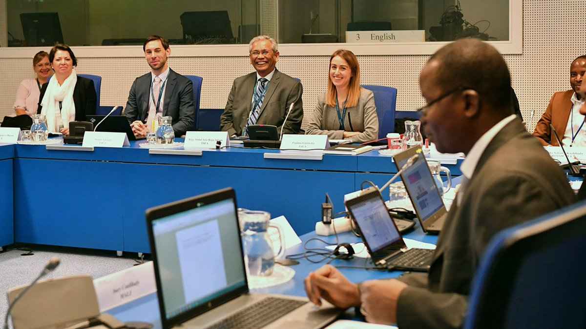 Experts from 10 African countries learned how to write regulations to support the security of #nuclear or other radioactive material and facilities. 📝  https://t.co/9QQbfj8Wnz