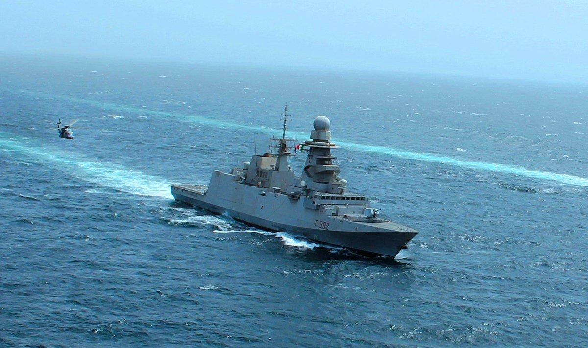 Marina Militare  la fregata Margottini in sosta in Arabia Saudita dal 23 al  25 febbraio. Comunicato stampa nr. 6f7571e5a74a
