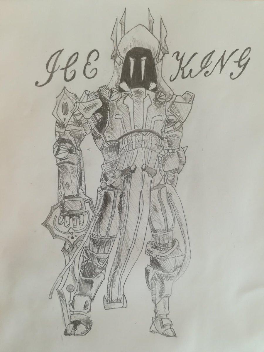 アイスキング,ICEKING, 描いてみたー夏休みとかで強制的に描か