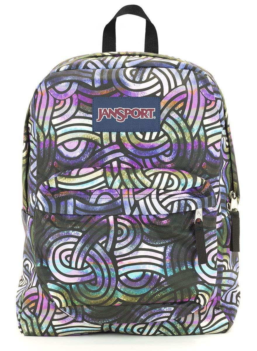Jansport Superbreak Backpack (multi super swirls) Sports amp; Outdoors - Affiliate Link -