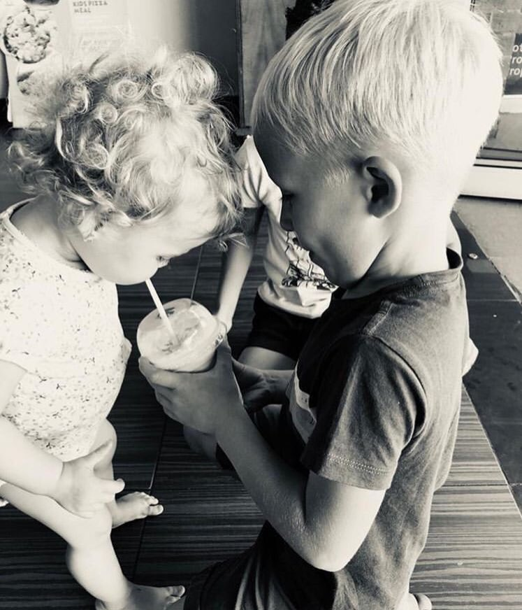 Brother-sister bond  😍 Elah & Daniël 😍
