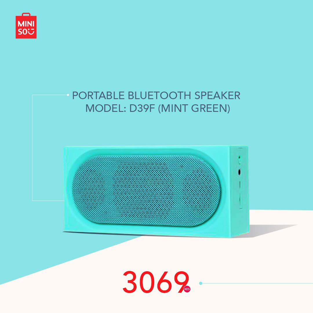 Miniso Kenya On Twitter Finally The Day Is Here Come Through To Our Stores And Shop For The Things You Like During The Flash Sale Get Two Of These Speakers For The