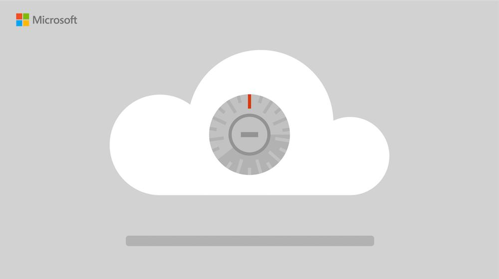 illustration of a cloud with a timer in the center