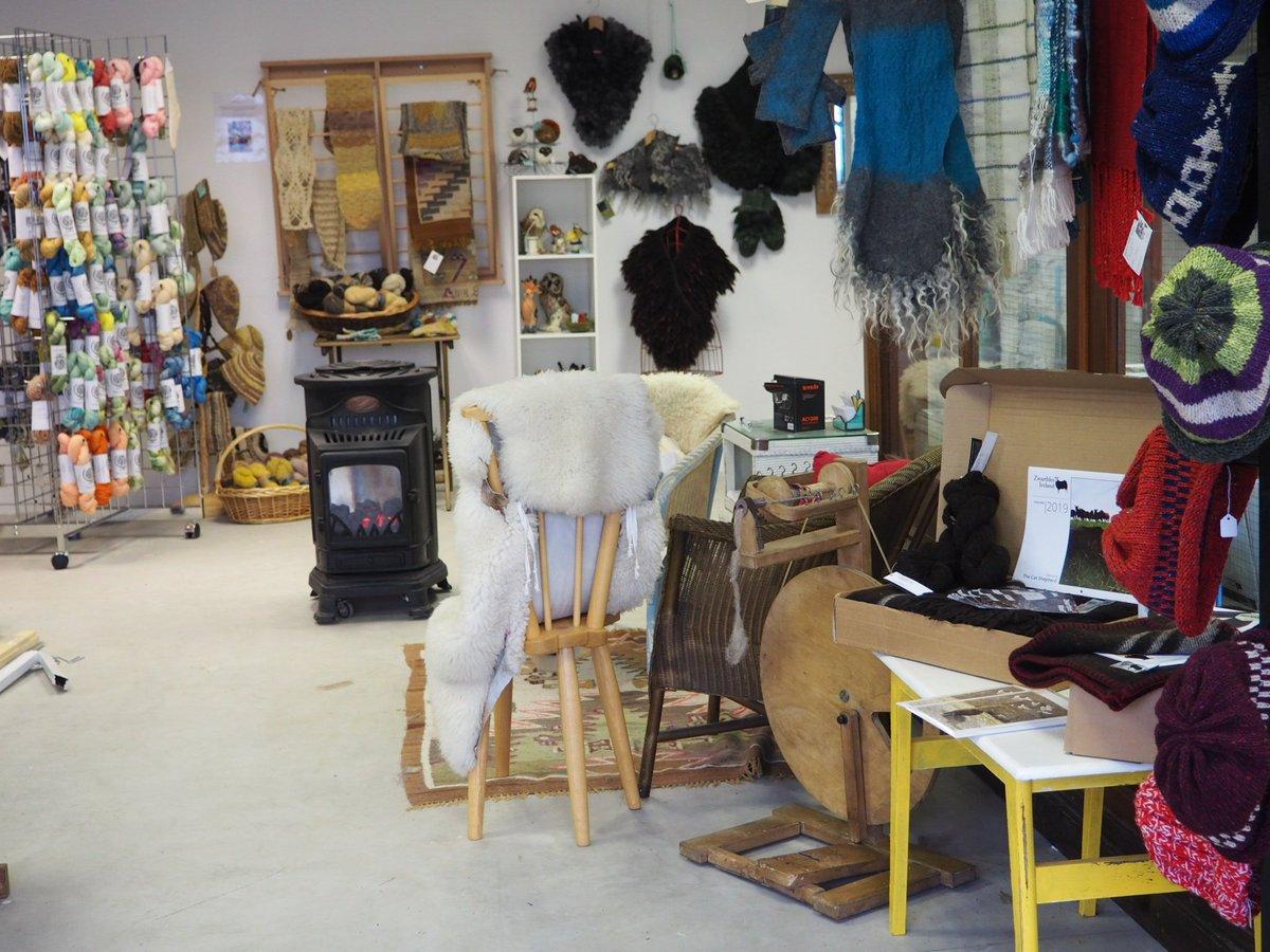 Fibre craft shop layout