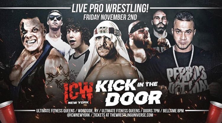 Just Added to @indiewrestling  http://IWTV.LIVE   ICW presents Kick In The Door  Sabu vs Teddy Hart  Danny DeManto vs Shane Douglas PCO vs Nick Gage vs Matt Tremont vs Shlak  Plus much more!   Available to stream NOW! New users use code ICWNEWYORK for 20 days FREE!