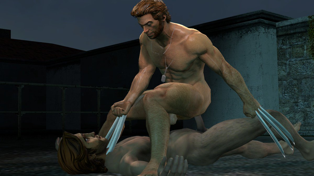 """3D Gay Porn Games timetorespawn on twitter: """"riding the wolf. #wolverine"""