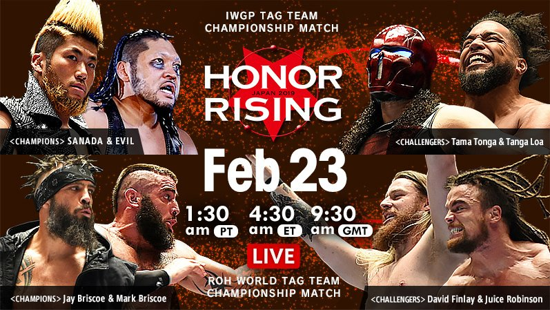Watch live until 2nd match on  http:// ow.ly/mj0d50khhD4  &nbsp;    Enjoy all matches of Feb 23rd on @njpwworld   http:// ow.ly/iv2A50khhCW  &nbsp;    #njroh #njpw #njpwworld <br>http://pic.twitter.com/gFpHR9QHAf